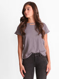 VINTAGE DISTRESSED TEE IN GREY