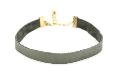 THE CORA CHOKER IN GREY