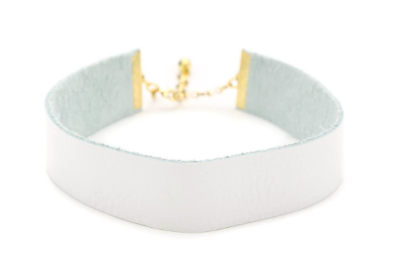 THE VIVIAN CHOKER IN WHITE