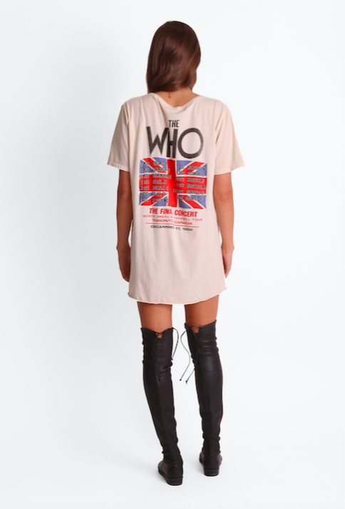 THE WHO AMERICAN TOUR 82 TEE