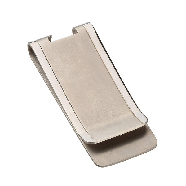 TI-EDC Titanium Slim Cash Money Clip Credit Card Holder and Bottle Opener