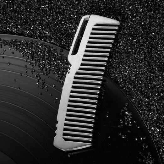 TI-EDC Handmade Titanium Premium Eco-friendly Durable Pocket Hair Comb