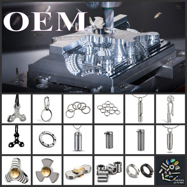 EDC Products Design&Manufacture,Sample Making,Accept small quantities of customized products