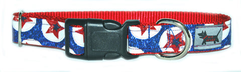 Americana Puppy Dog Collar