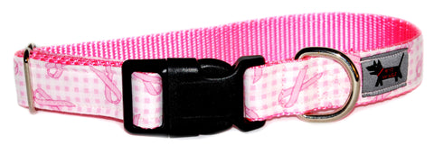 Breast Cancer Awareness Dog Collar