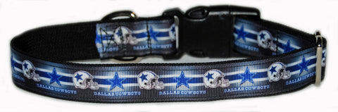 Dallas Cowboys NFL Dog Collar
