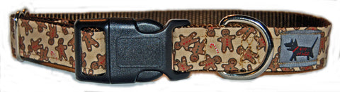 Gingerbread Cookie Dog Collar