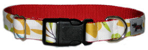 Hawaii Five Flower Dog Collar
