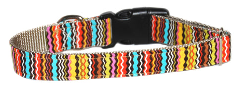 Hoppy Stripes Dog Collar