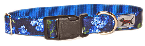 Lilac Blue Dog Collar