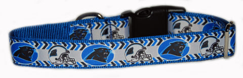 Carolina Panther NFL Dog Collar