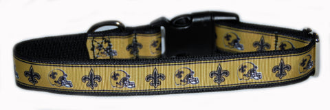 New Orlean Saints NFL Dog Collar