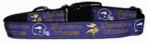 Minnesota Vikings NFL Dog Collar