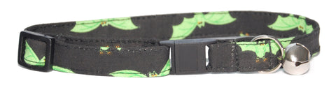 Cat Gone Batty Cat Collar