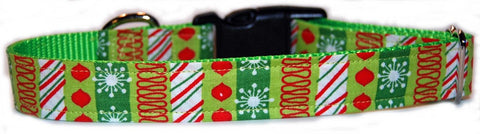 Christmas Present Dog Collar