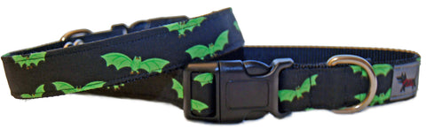 Dog Gone Batty Dog Collar