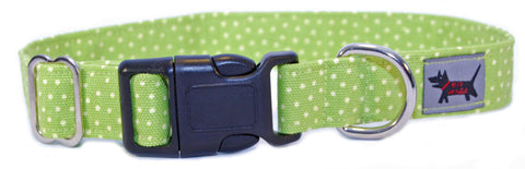 Green Apple Dog Collar