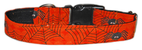 Itsy Bitsy Spider-ween Dog Collar