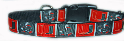 University of Miami Dog Collar