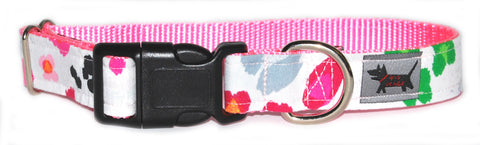 Mosaic Dalmatian Dog Collar