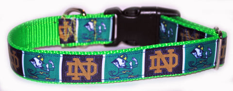 Notre Dame University Dog Collar