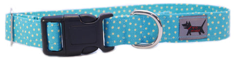 Ocean Blue Dog Collar