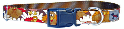 Turkey Lurky Dog Collar