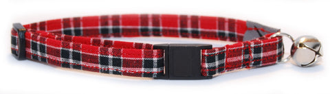 Winter PJs Cat Collar