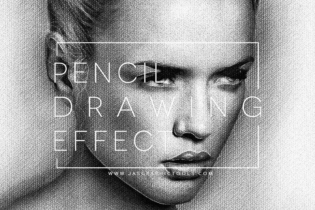 Realistic Pencil/Charchoal Drawing Effect Actions - JasGraphicTools