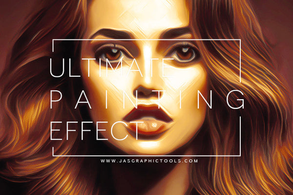 Ultimate Painting Effect Actions - JasGraphicTools