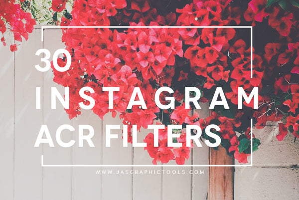 30 Instagram Filters ACR & ATN Presets - JasGraphicTools