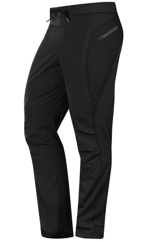 Hylete Verge II Flex-Woven Zip Pocket Pant- Black