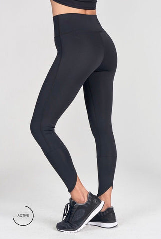 Joah Brown Lift Legging; Onyx Black