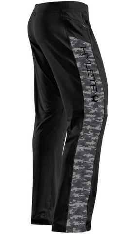 "HYLETE Vertex II Flex-Knit Zip Pocket Pant- Black/Camo; 34"" Inseam"