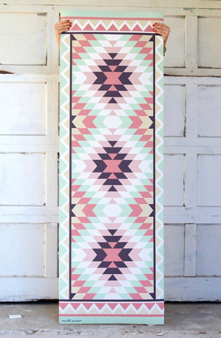 Wild Arrow- Southwestern Rug Yoga/Fitness Mat