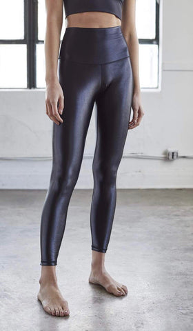 DYI- High Shine High-Waisted Legging; Black