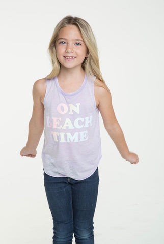 Chaser Beach Time Tank; Pastel Purple