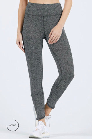 Joah Brown Left Legging; Black Herringbone