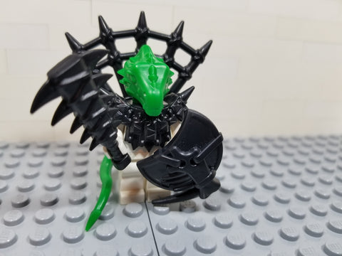 Dragonman / Lizardman Warrior Lego Minifigure Custom Accessory Kit