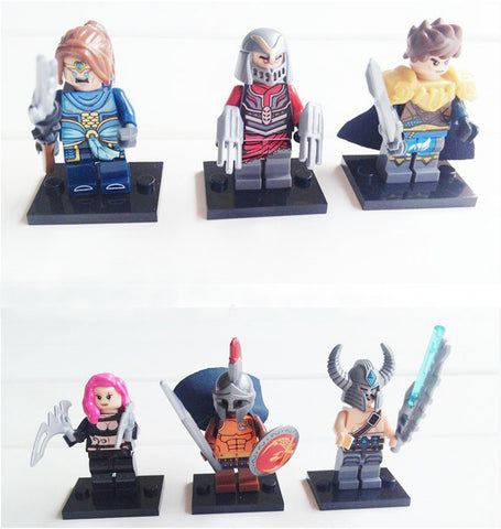 Pantheon Custom Lego Compatible Minifigure League of Legends – King ...