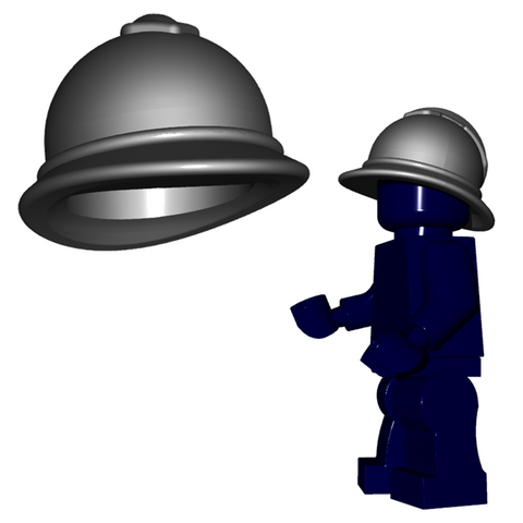 French Adrian Helmet Lego Custom Brickwarriors Minifigure Accessory