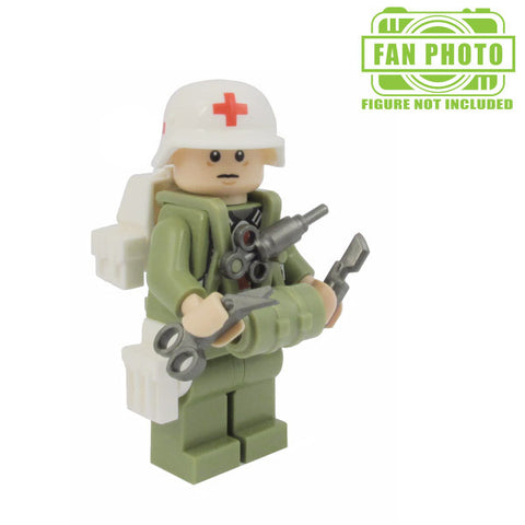 Combat Medic Brickforge Accessory Pack for Lego Minifigures