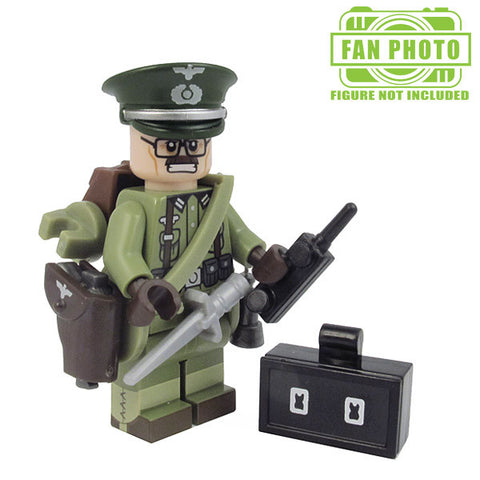 Field Marshal Brickforge Accessory Pack for Lego Minifigures