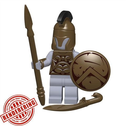 Spartan shield for Lego Minifigures accessories