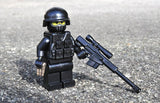 (5x) Lightweight Combat Vest LCV - SAW Brickarms Custom Lego Minifigure Accessory