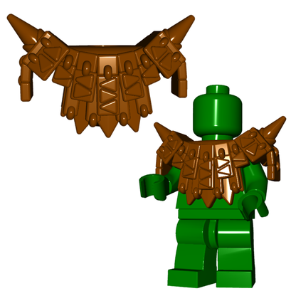 Dragon / Lizardman Armor Brickwarriors Custom Lego Minifigure Accessory