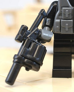 (2x) Multiple Grenade Launcher (MGL) v2 Brickarms Custom Weapon for Lego Minifigures
