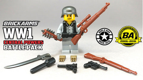 Brickarms WW1 Central Powers Battle Pack for Lego Minifigures