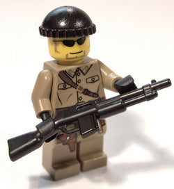 (5x) BAR Browning Automatic Rifle Brickarms Lego Minifigure Accessory