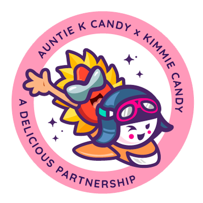 Auntie K Candy X Kimmie Candy | A Delicious Partnership